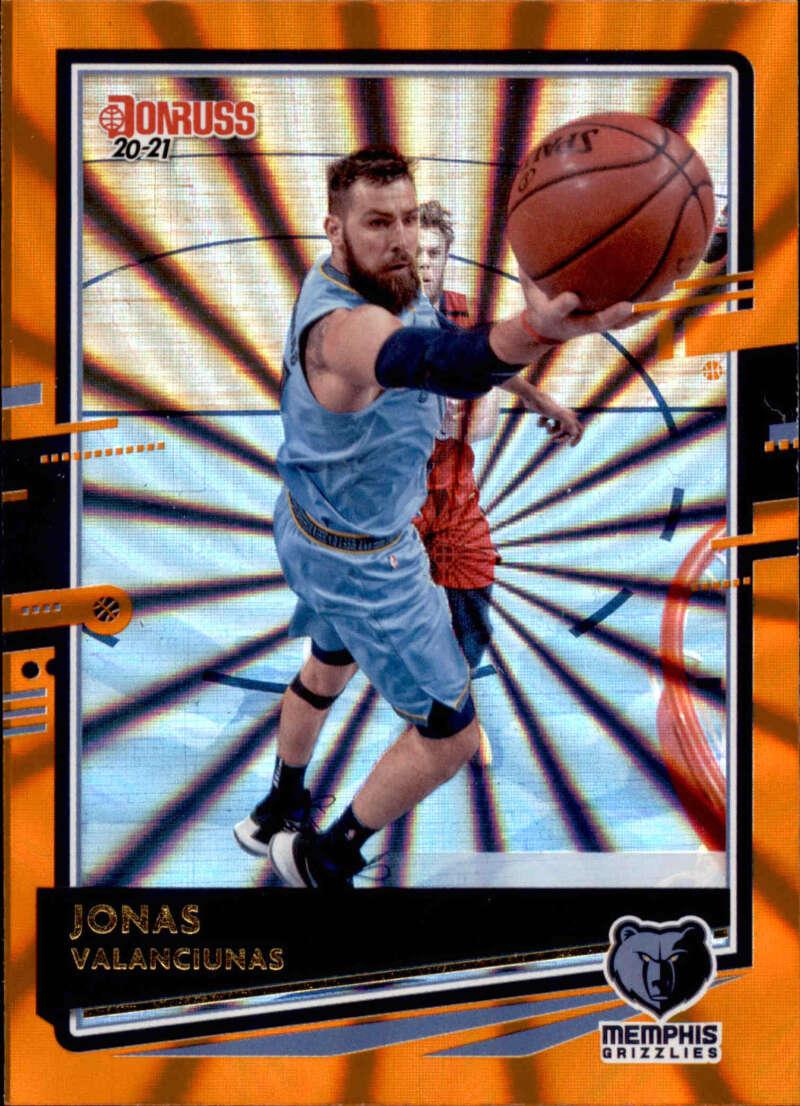 2020-21 Donruss  Holo Orange Laser