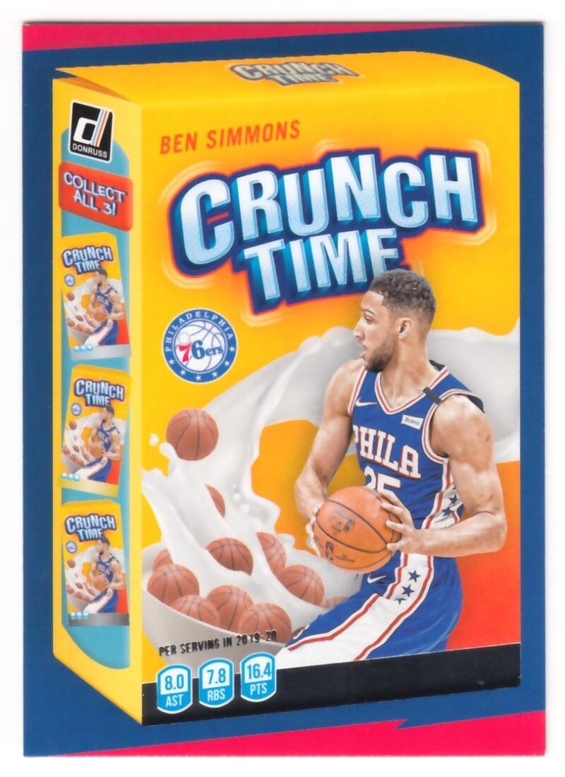 2020-21 Donruss  Crunch Time