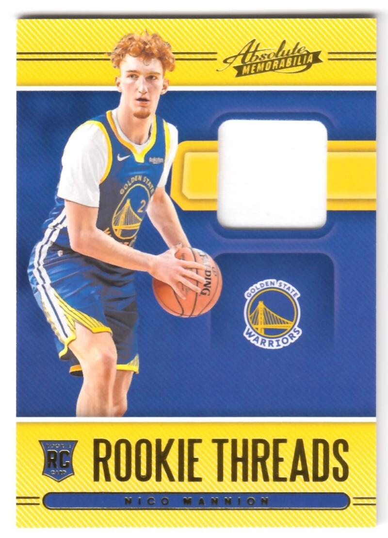 2020-21 Panini Absolute Rookie Threads Level 1