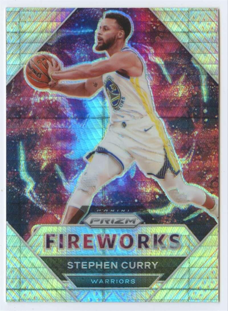 2020-21 Panini Prizm Fireworks Prizms Hyper
