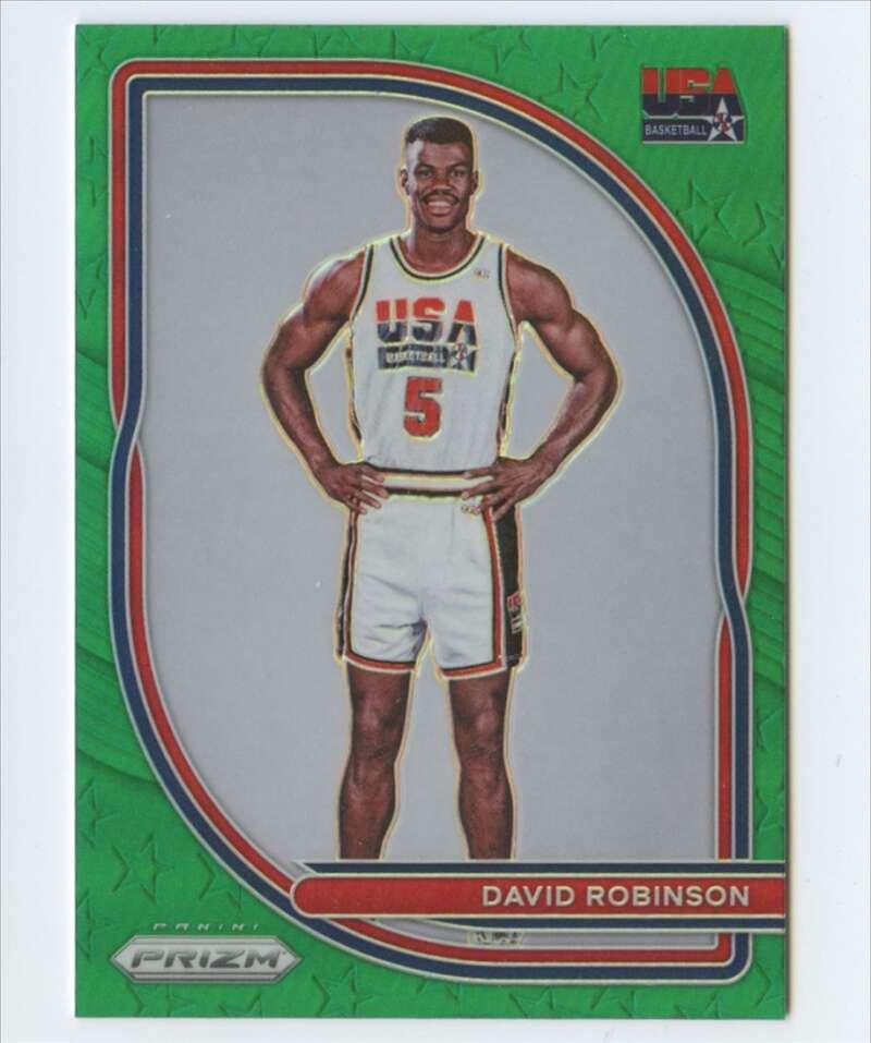 2020-21 Panini Prizm USA Basketball Prizms Green