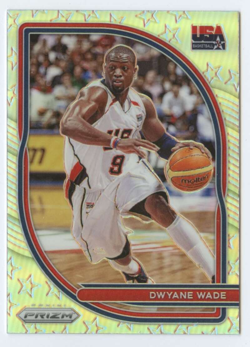 2020-21 Panini Prizm USA Basketball Prizms Silver