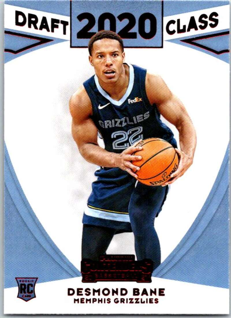 2020-21 Panini Contenders 2020 Draft Class Contenders Red