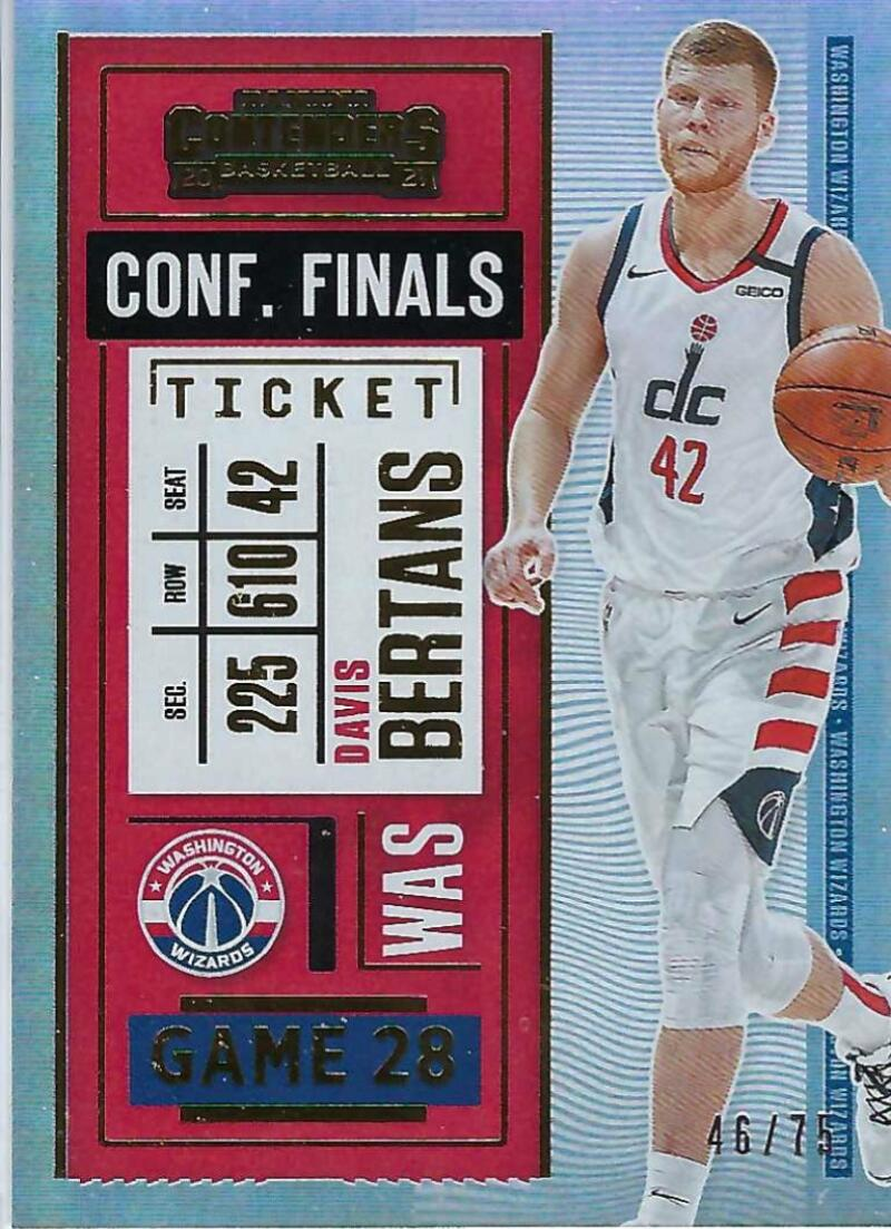 2020-21 Panini Contenders Conference Finals Ticket