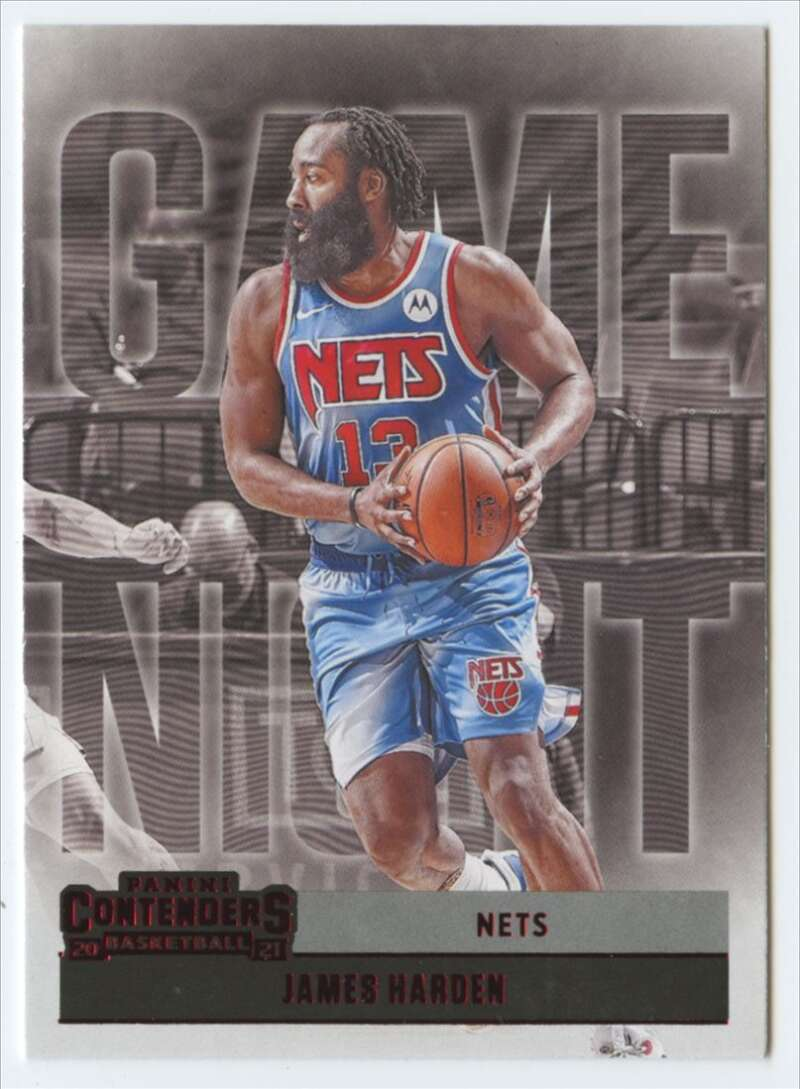 2020-21 Panini Contenders Game Night Ticket Red