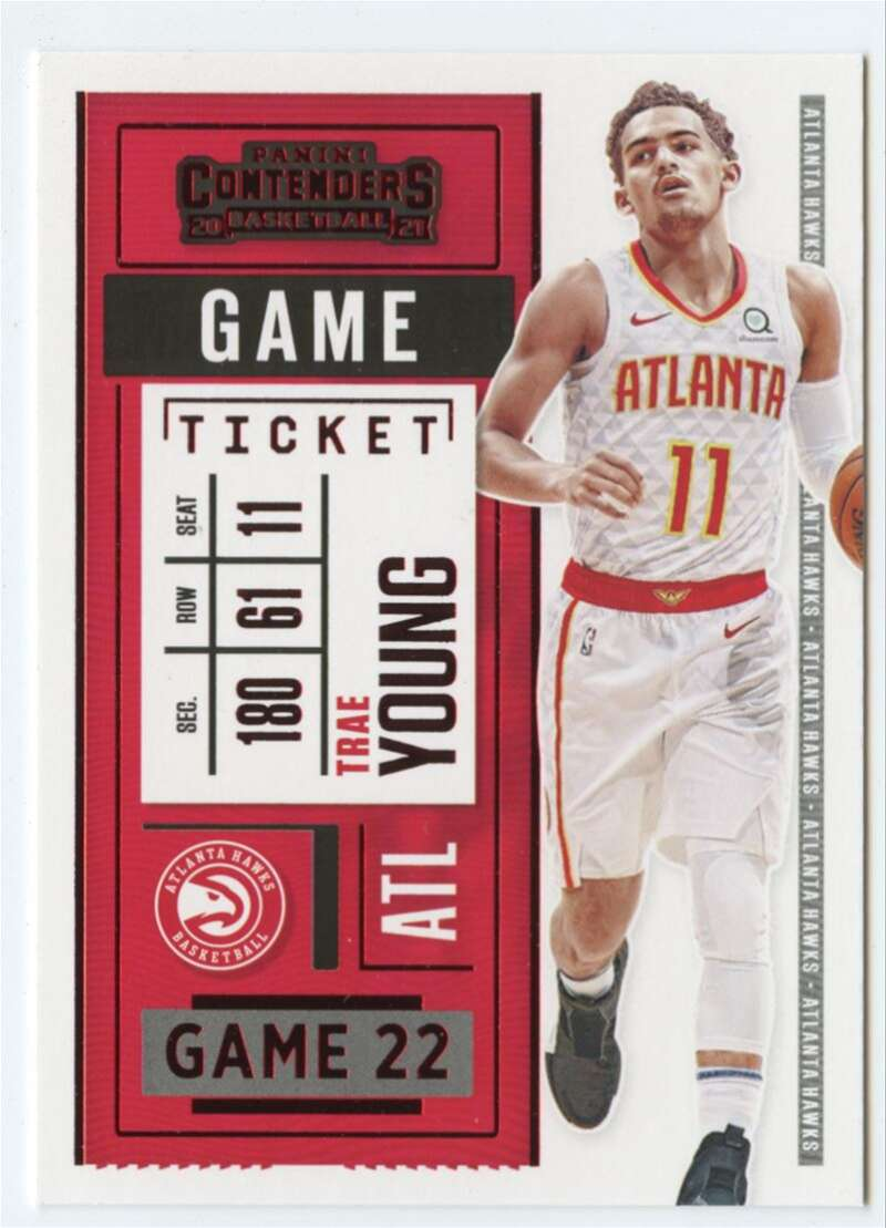 2020-21 Panini Contenders Game Ticket Red