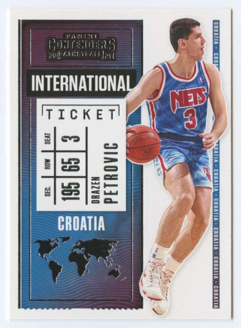 2020-21 Panini Contenders International Ticket