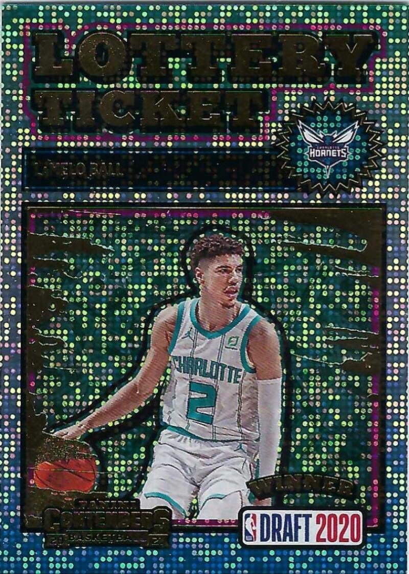 2020-21 Panini Contenders Lottery Ticket