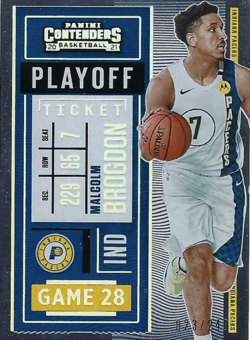 2020-21 Panini Contenders Playoff Ticket