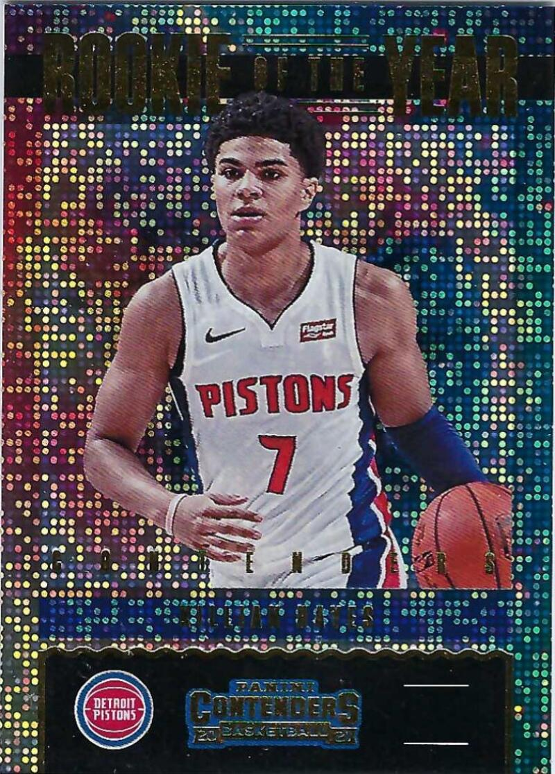 2020-21 Panini Contenders Rookie of the Year Contenders