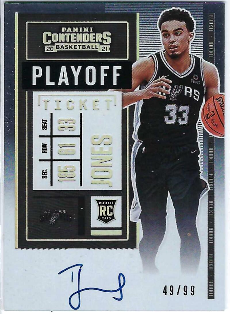2020-21 Panini Contenders Rookie Playoff Ticket
