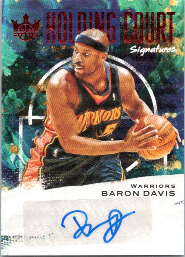2020-21 Panini Court Kings Holding Court Signartures Ruby