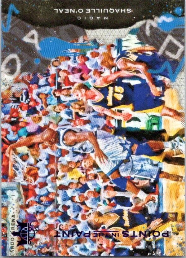 2020-21 Panini Court Kings Points in the Paint Violet