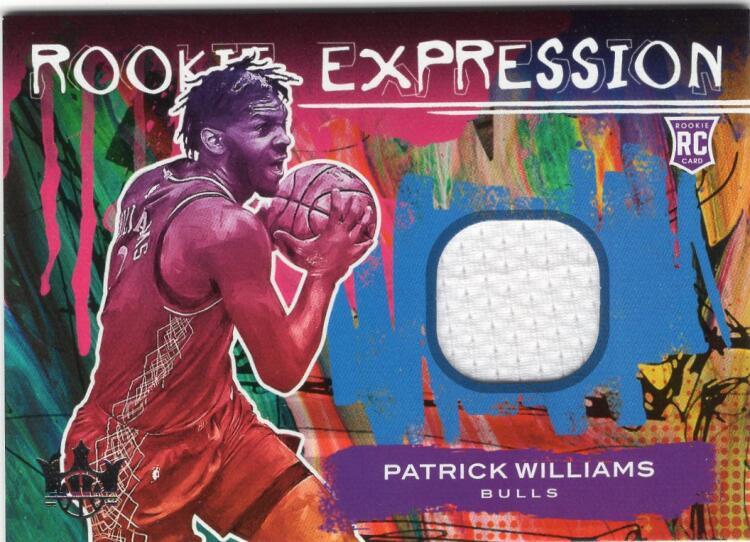 2020-21 Panini Court Kings Rookie Expression Memorabilia