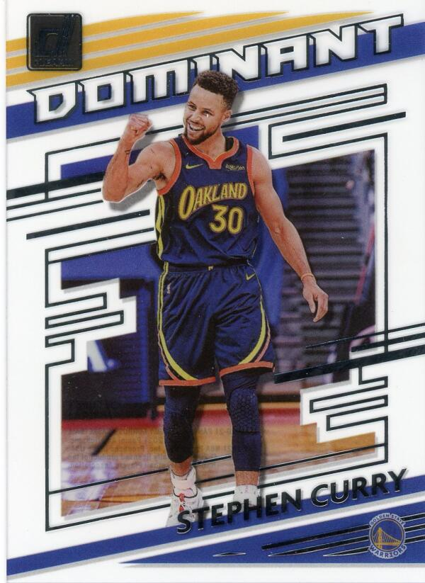 2020-21 Donruss Clearly Dominant