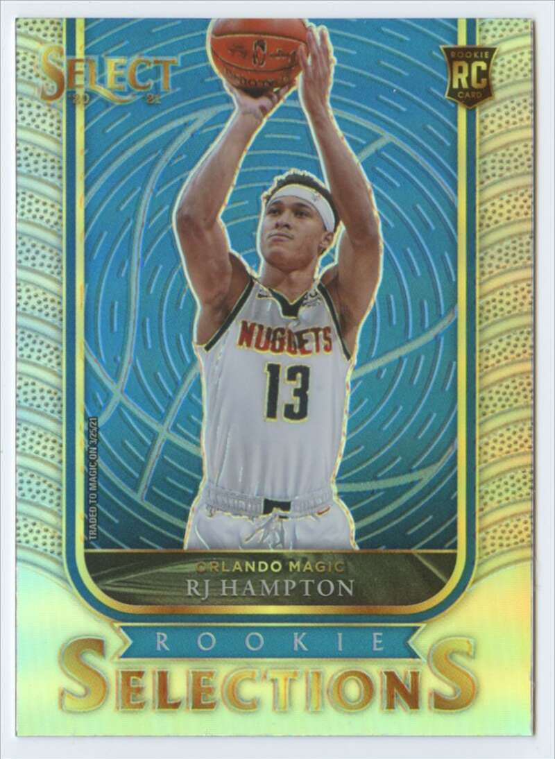 2020-21 Panini Select Rookie Selections Silver