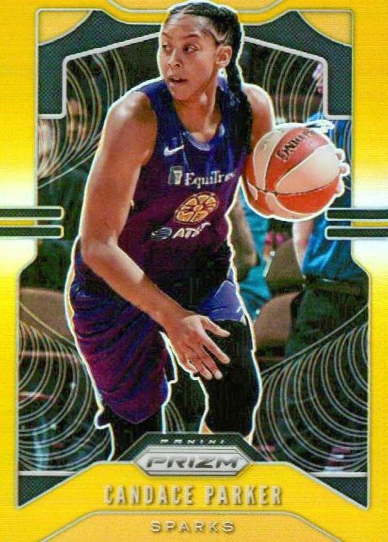 2020 Panini Prizm WNBA Prizms Gold