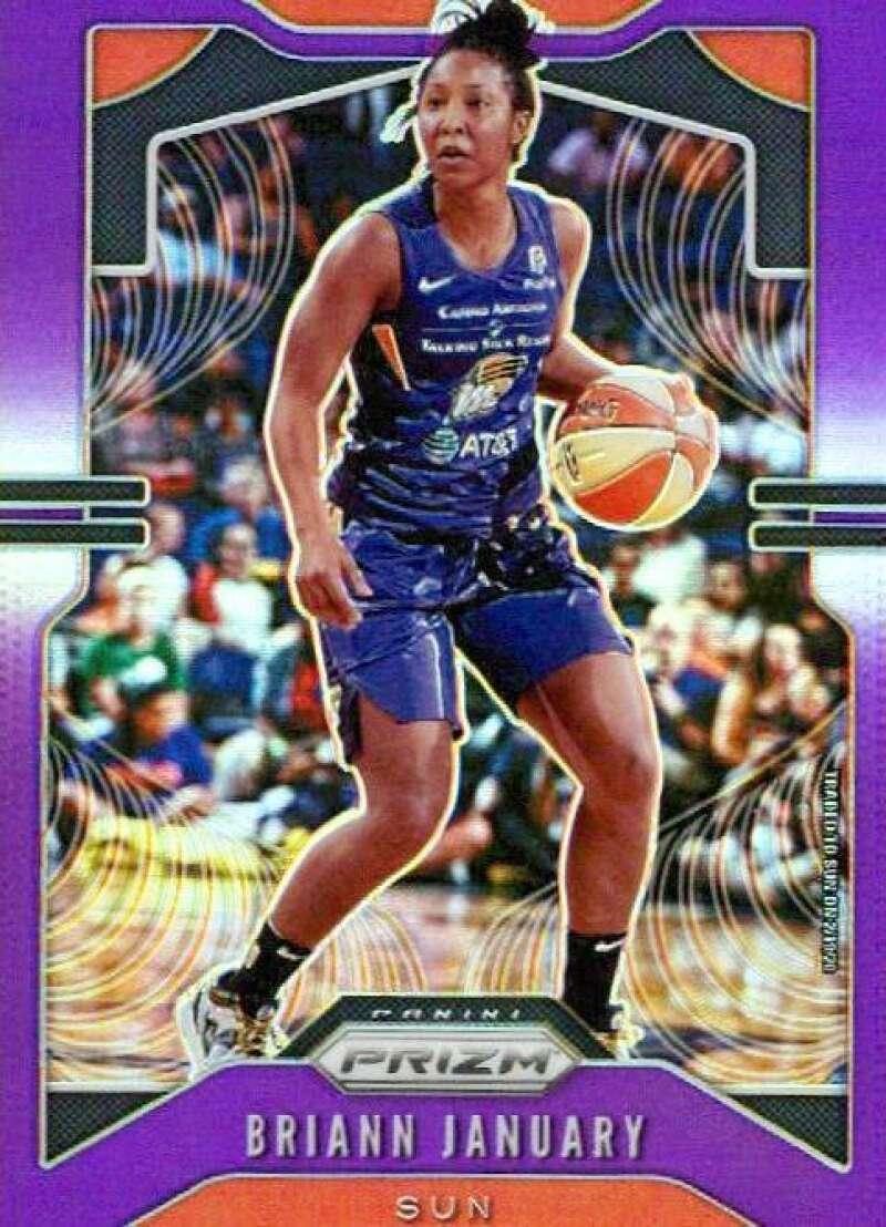 2020 Panini Prizm WNBA Prizms Purple