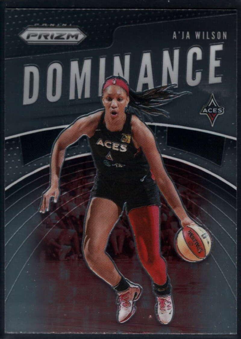 2020 Panini Prizm WNBA Dominance #12 A'ja Wilson Las Vegas Aces  Basketball Trading Card