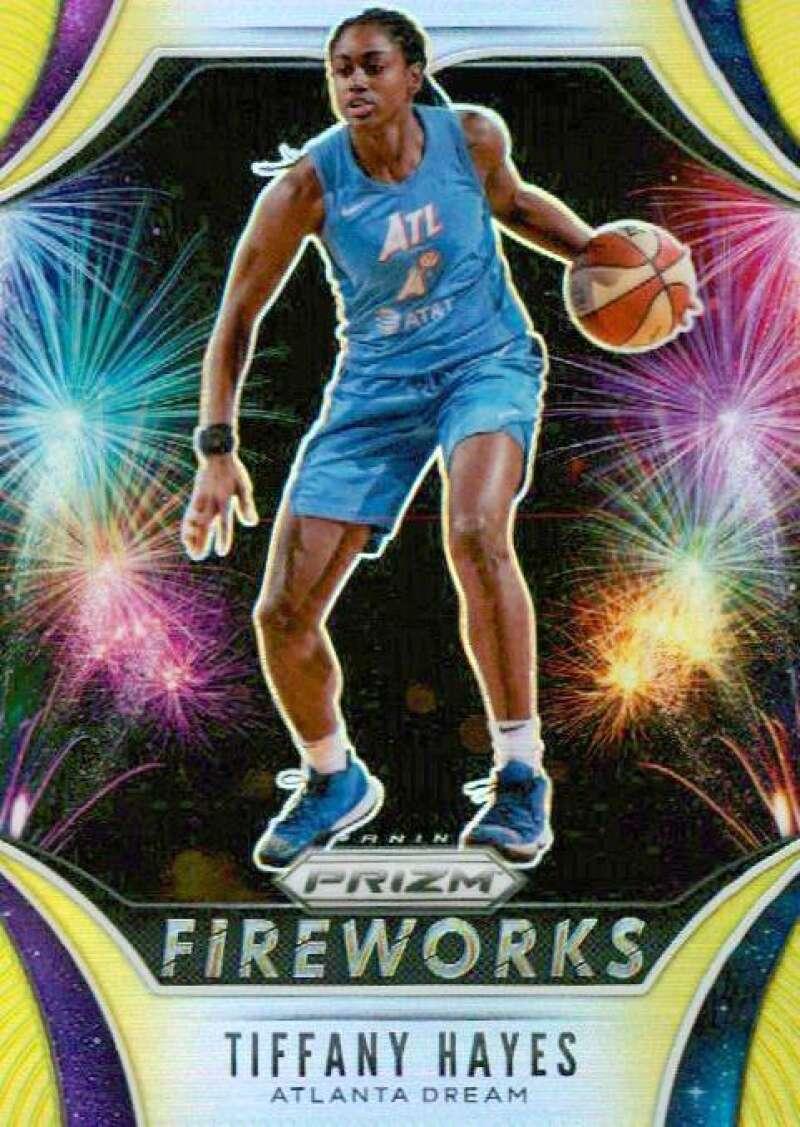 2020 Panini Prizm WNBA Fireworks Prizms Gold