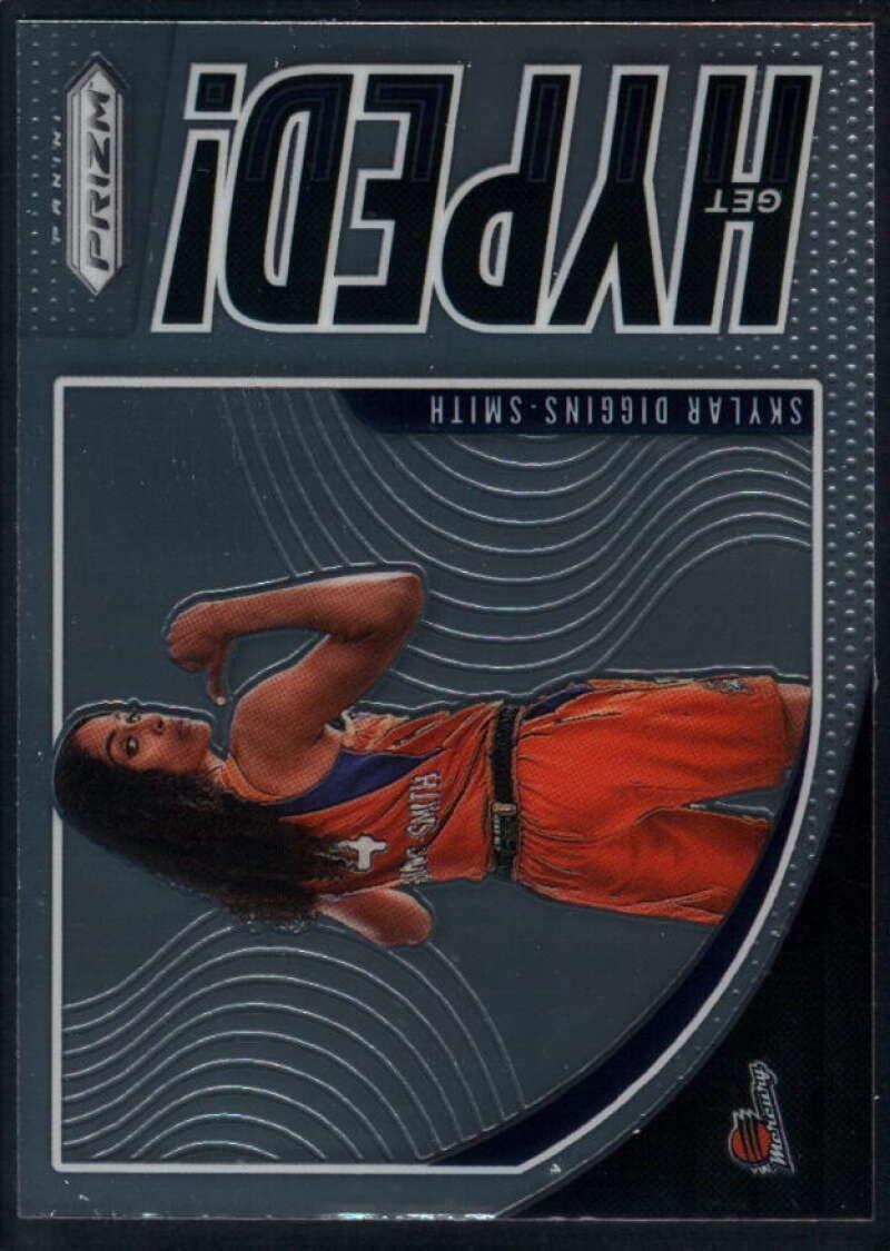 2020 Panini Prizm WNBA Get Hyped #8 Skylar Diggins-Smith Phoenix Mercury  Basketball Trading Card