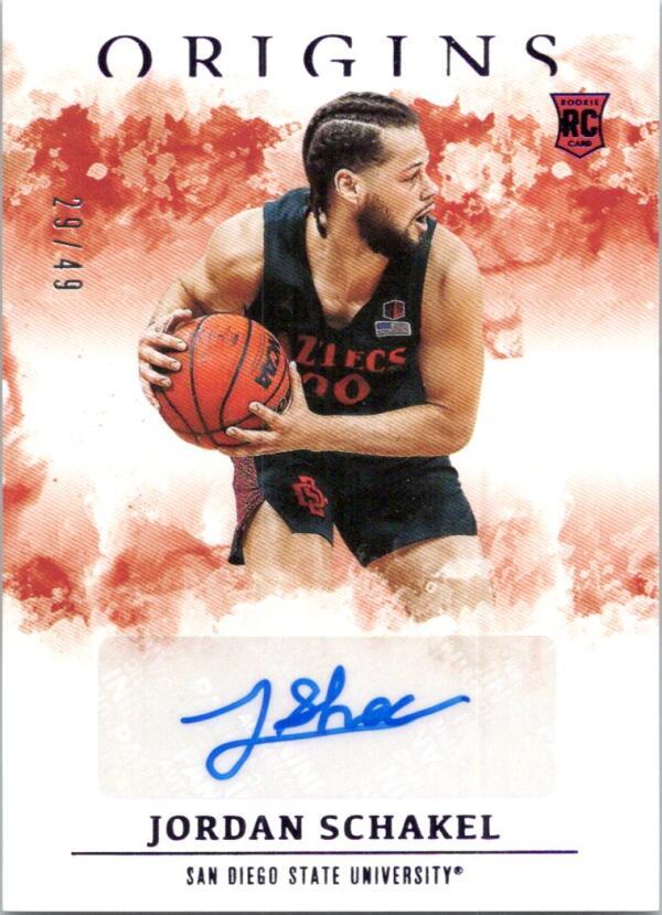 2021-22 Panini Chronicles Draft Picks Origins Rookie Autographs Purple