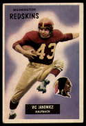 1955 Bowman #133 Vic Janowicz Washington Redskins EX/NM