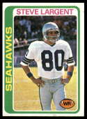 1978 Topps #443 Steve Largent VG/EX Very Good/Excellent
