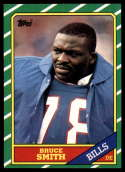 1986 Topps #389 Bruce Smith EX/NM RC Rookie Buffalo Bills
