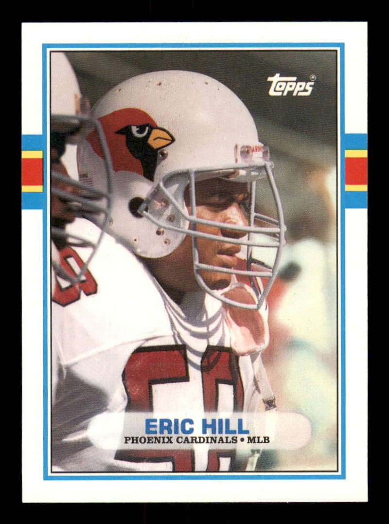 1989 Topps Traded #87T Eric Hill NM-MT RC Rookie
