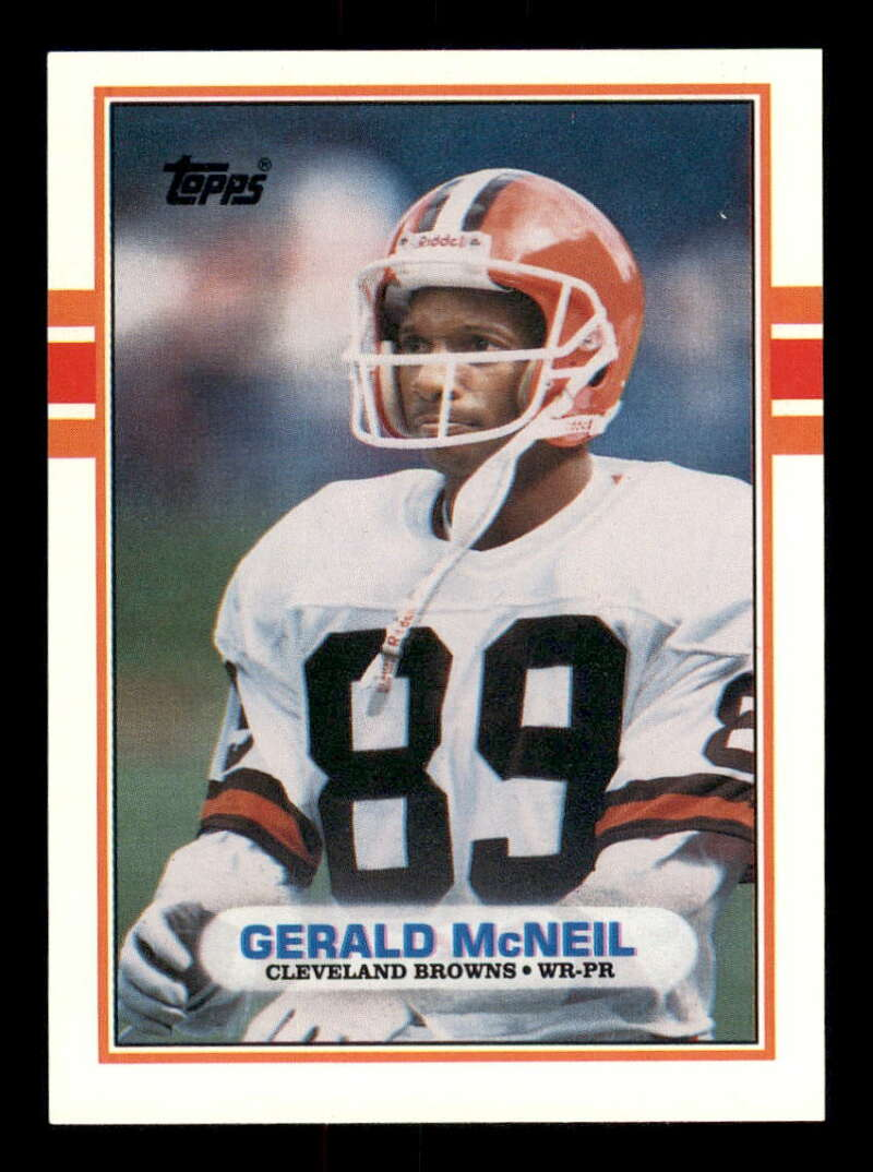 1989 Topps Traded #88T Gerald McNeil NM-MT