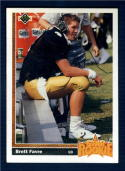 1991 Upper Deck #13 Brett Favre SR NM RC Rookie
