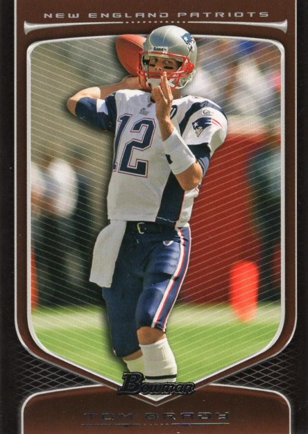 2009 Bowman Draft #10 Tom Brady NM Near Mint