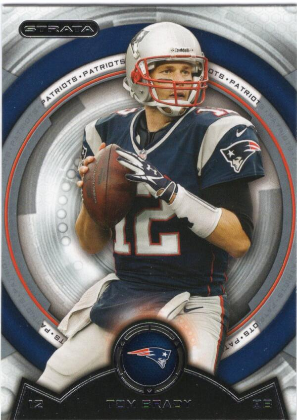 2013 Topps Strata #95 Tom Brady NM-MT New England Patriots