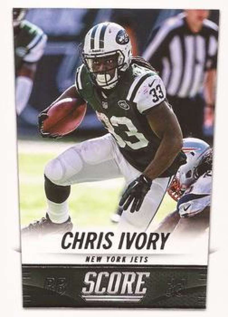 Details about 2014 Score #153 Chris Ivory NM-MT NY Jets