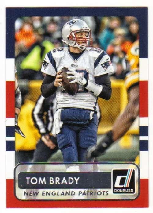 2015 Donruss #22 Tom Brady NM