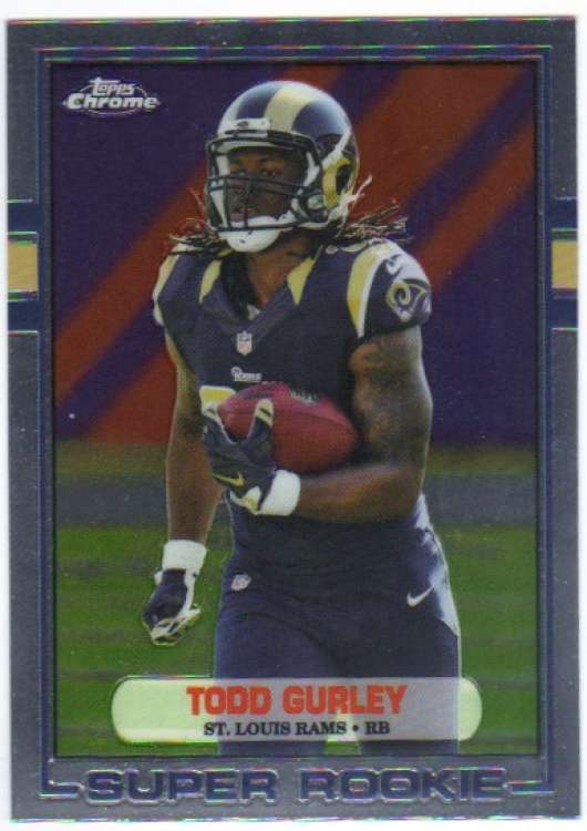 2015 Topps Chrome 1989 Topps #89-TG Todd Gurley NM-MT St. Louis Rams