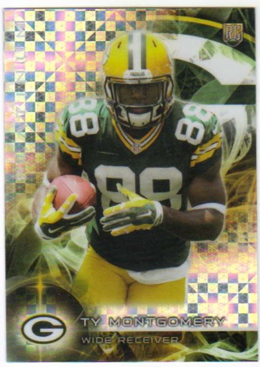 2015 Topps Platinum Rookies X-Fractor #119 Ty Montgomery NM-MT RC Rookie