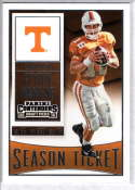 2016 Contenders Draft Picks Football Season Ticket #81 Peyton Manning Tennessee Volunteers  Official NCAA Trading Card made by Panini