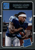 2016 Donruss #365 Derrick Henry RC Rookie Tennessee Titans