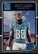 2016 Donruss #384 Leonte Carroo RC Rookie Miami Dolphins
