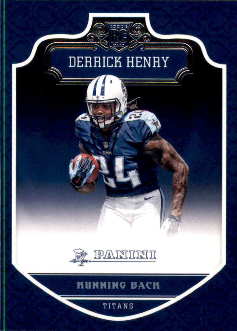 2016 Panini Football #300 Derrick Henry RC Rookie Tennessee Titans