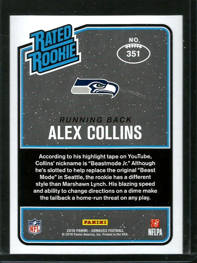 2016-Donruss-Rated-Rookies-NFL-RC-Football-Card-Singles-You-Pick miniature 15