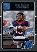 2016 Donruss Rated Rookies #400 Will Fuller NM-MT RC Rookie Houston Texans