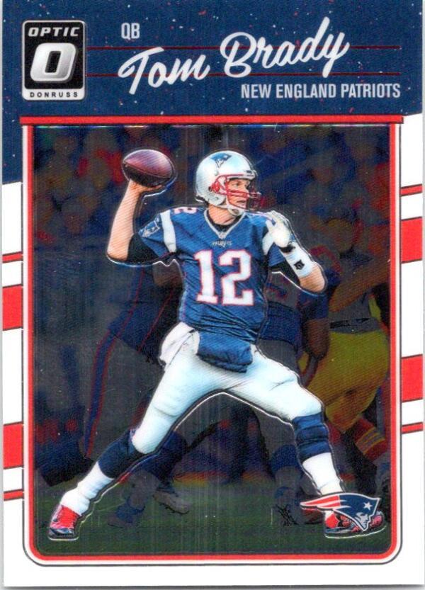 2016 Donruss Optic #62 Tom Brady NM-MT New England Patriots