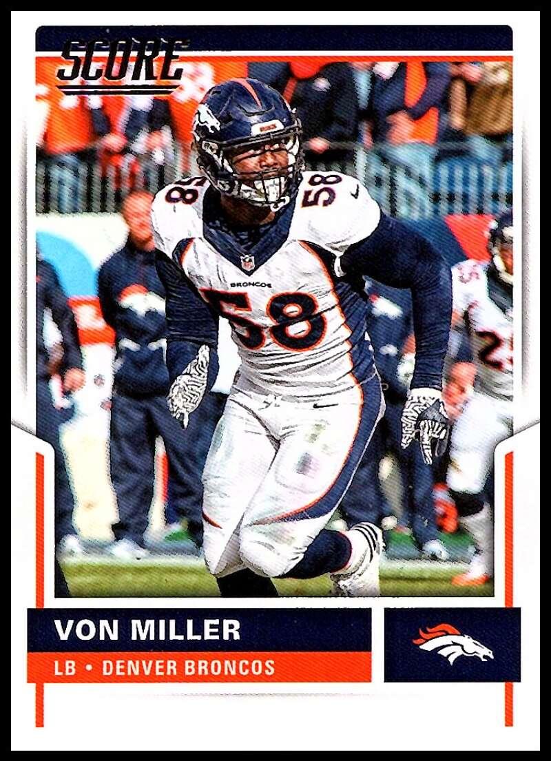2017 Score #286 Von Miller NM-MT Broncos