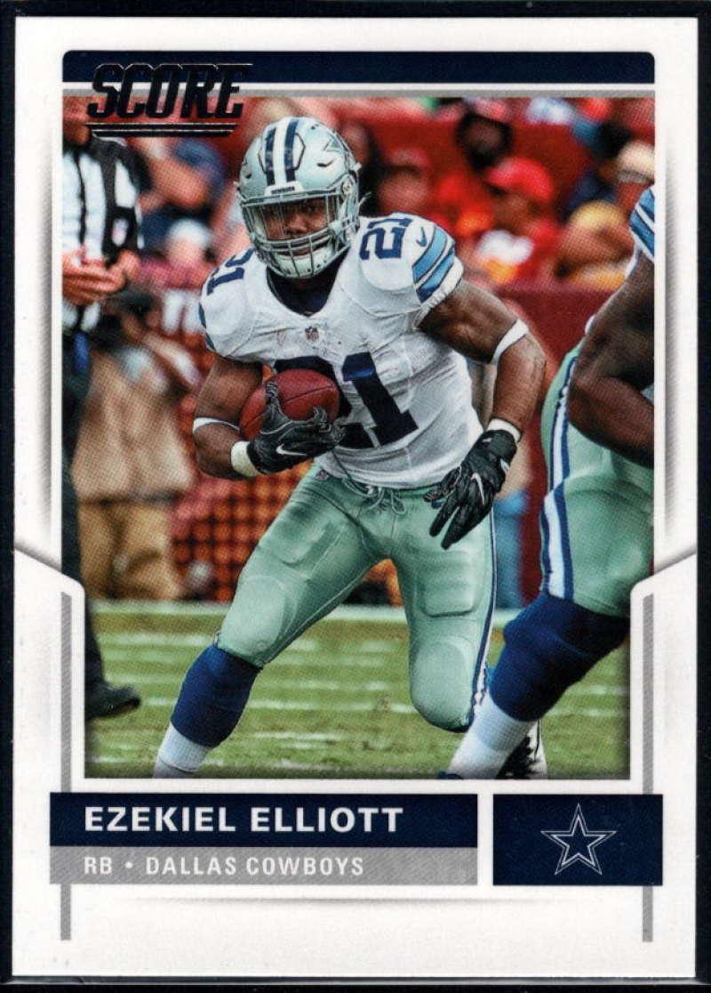 2017 Score #291 Ezekiel Elliott NM Near Mint