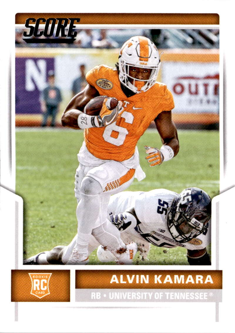 Football NFL 2017 Score Rookies #375 Alvin Kamara  RC