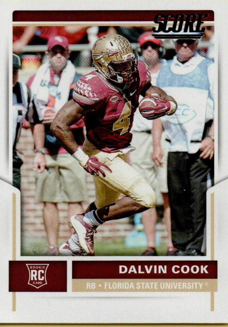 2017 Score Rookies #427 Dalvin Cook NM-MT RC Rookie