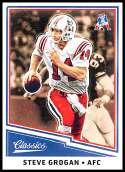 2017 Classic #196 Steve Grogan NM-MT Patriots